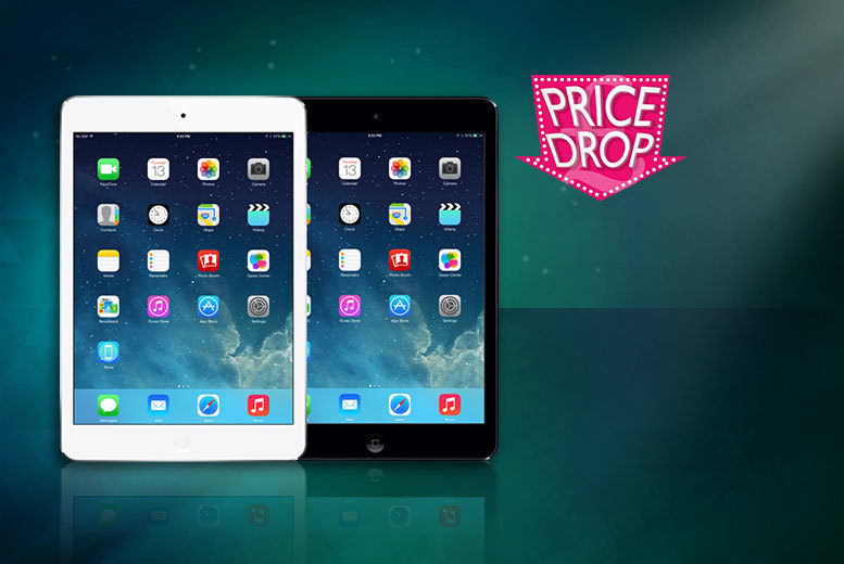 £158 instead of £297 (from ClickWrap) for a grade B refurbished Apple iPad Mini 16GB - choose black or white and save 47%