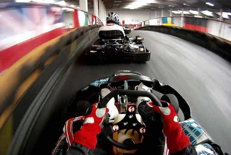 £59 for an indoor go karting session for two people from Activity Superstore – choose from over 10 location!