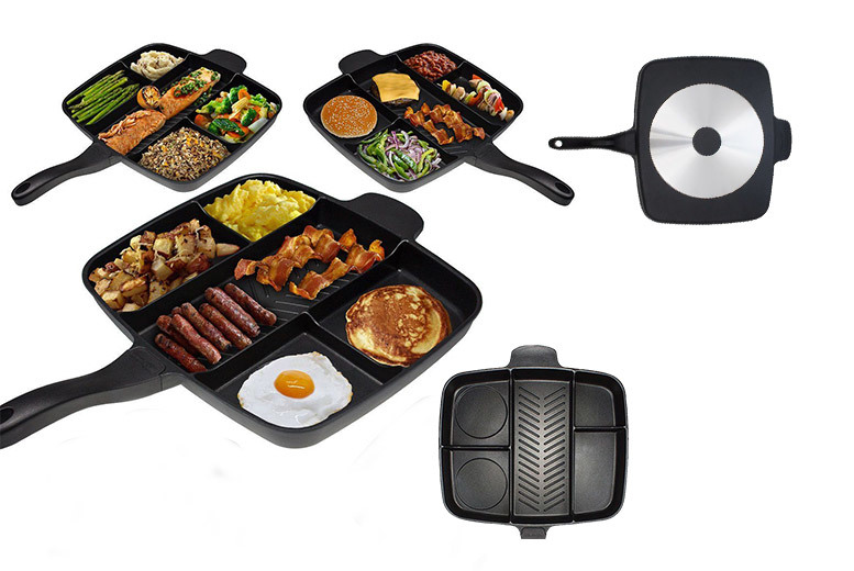 Image of £39.99 instead of £99.99 (from TabStar) for a multi-section frying pan - save 60%