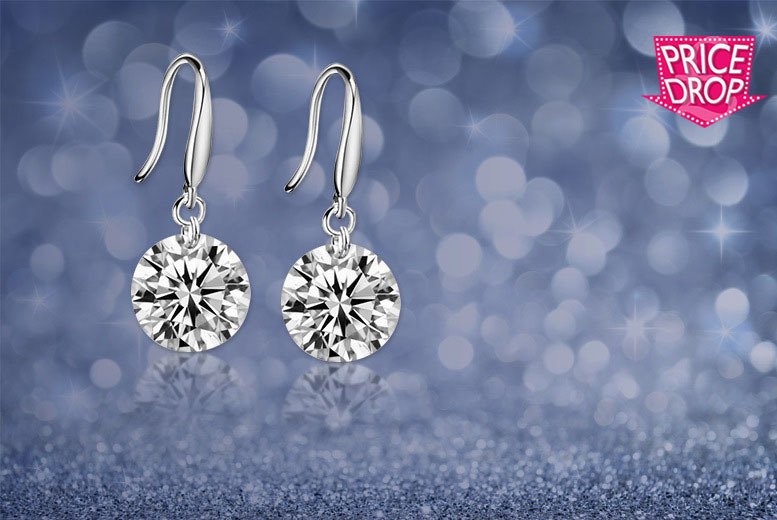Drop Earrings Made With Crystals From Swarovski® for £7