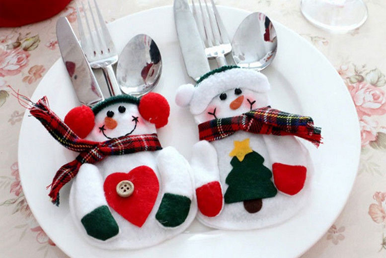 The Best Deal Guide - Snowman Cutlery Socks - Pack of 4, 8 or 12!