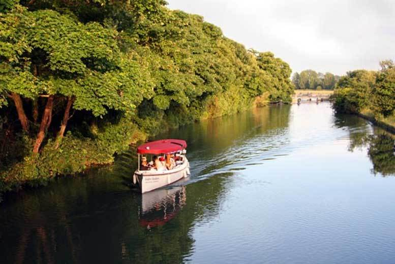 Oxford:Oxford River Thames Cruise for 2 for £22