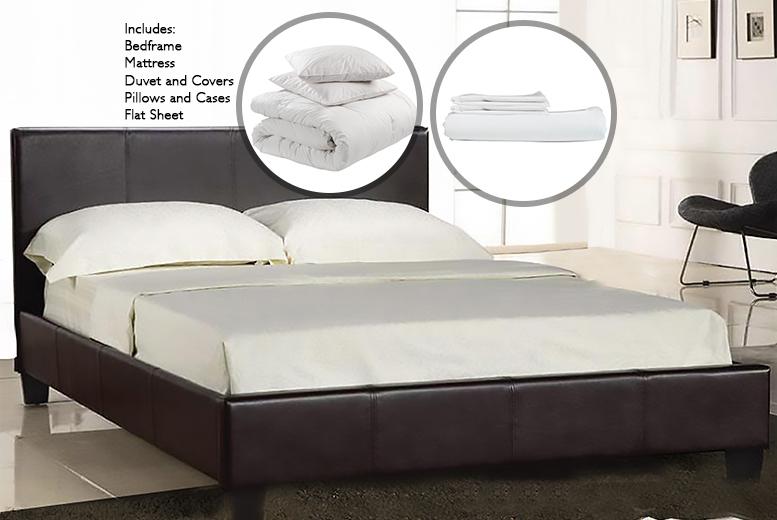 Complete Bed, Mattress, Duvet