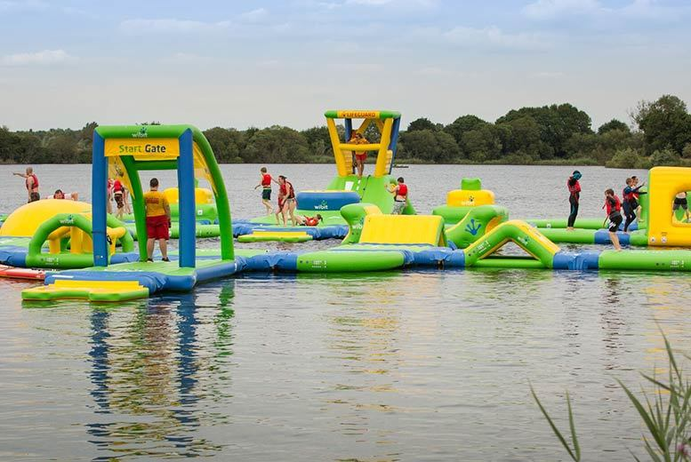 Birmingham:Wibit Aquaventure Course for 2 or 4 from £20