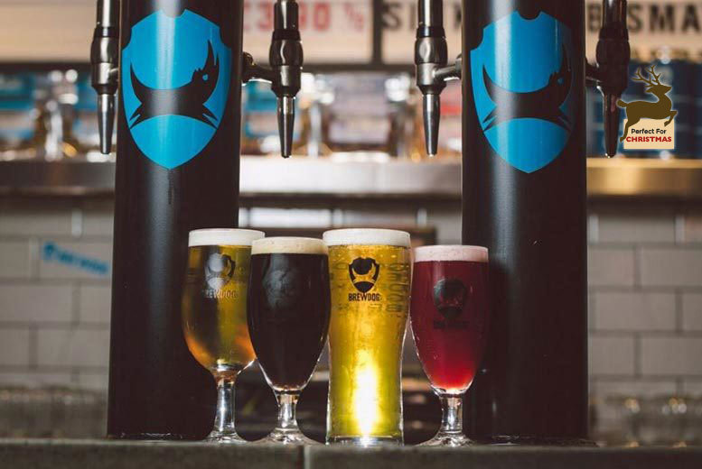 Birmingham: BrewDog Beer School, Tutored Tasting with Cheese Pairings for 2 for £19.99