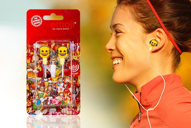 Official Emoji Earbuds for £3.99