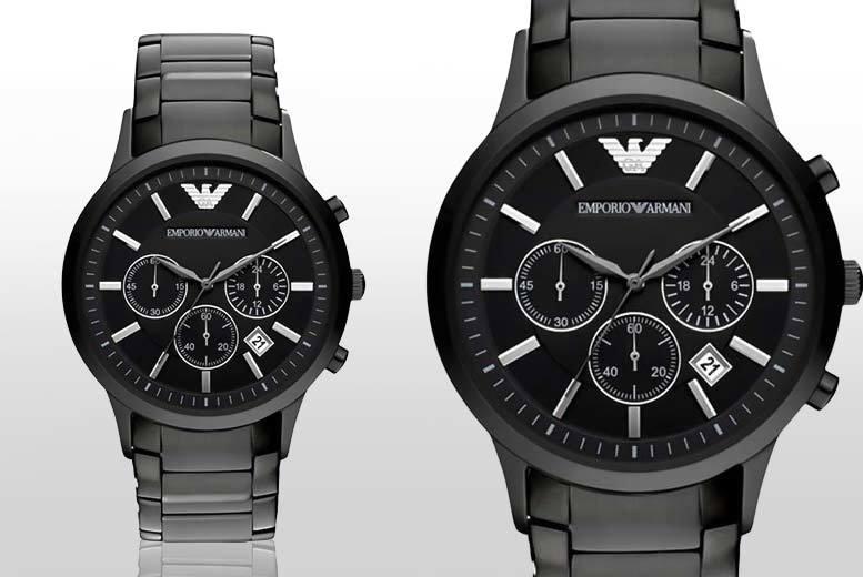 Men's AR2453 Emporio Armani Steel Watch
