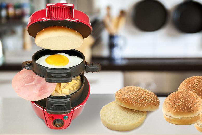 Quick Breakfast Sandwich Maker for £14