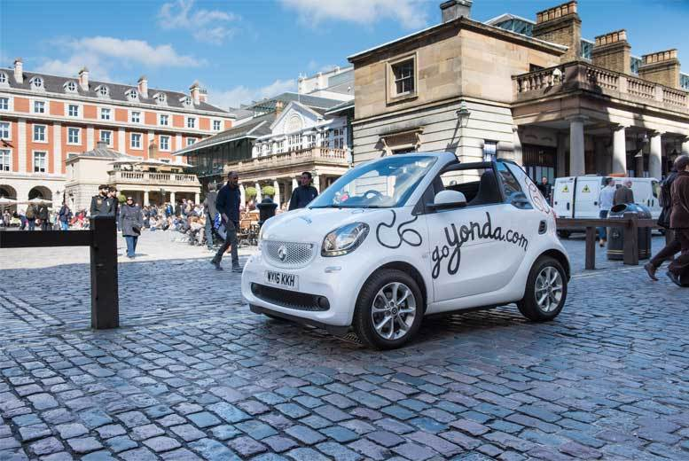London: Private Sightseeing London Tour in Talking Yonda Car for 2 or 4 from £29
