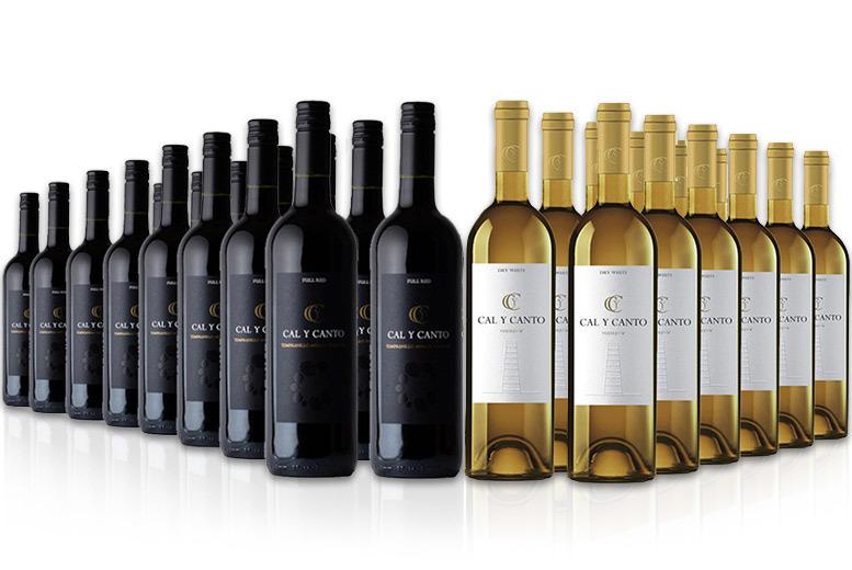 16 Bottles of Red or 12 Bottles of Award Winning White Wine for £39