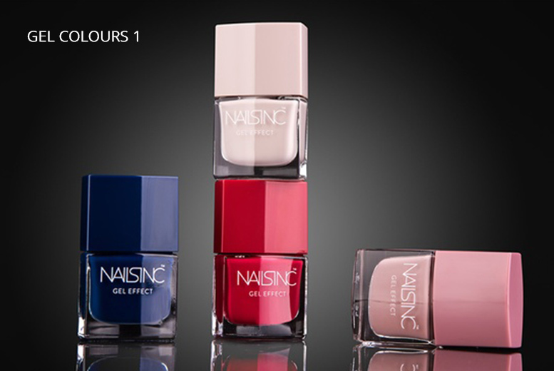 Nails Inc Gel Effect Nail Polishes – 4 Options! from £29.99