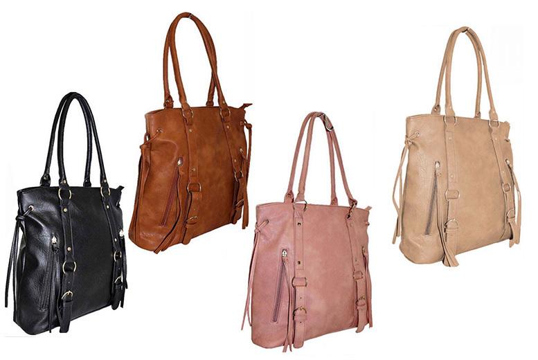 Tassle Handbag – 4 Colours! for £16