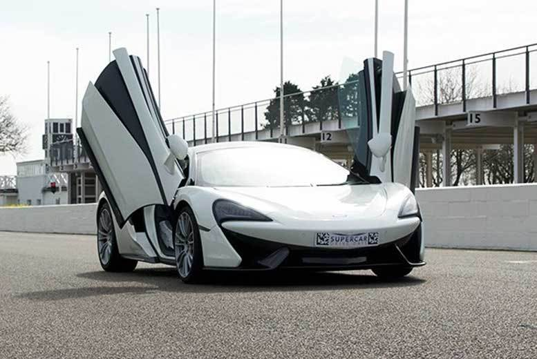 London: McLaren 570s Driving Blast & High Speed Passenger Ride for £59