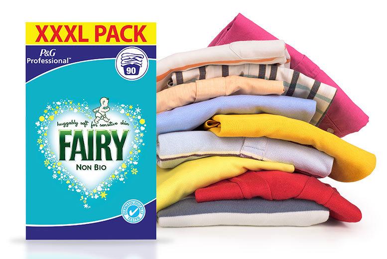 90-Wash Fairy Non-Bio Laundry Powder for £19