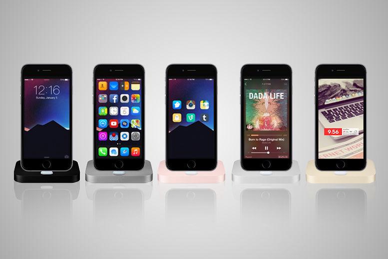 Aluminium iPhone Charging Dock – 5 Colours! for £9.99