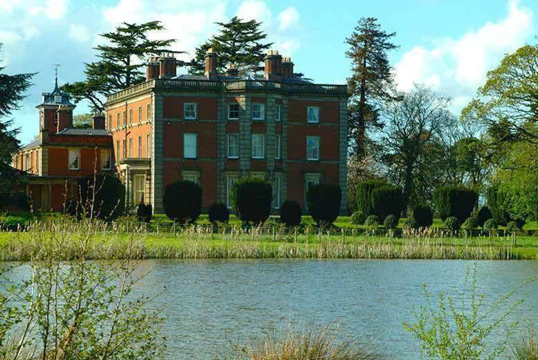 Birmingham: 60-Guest Wedding Package @ Netley Hall Estate, Shropshire from £2995