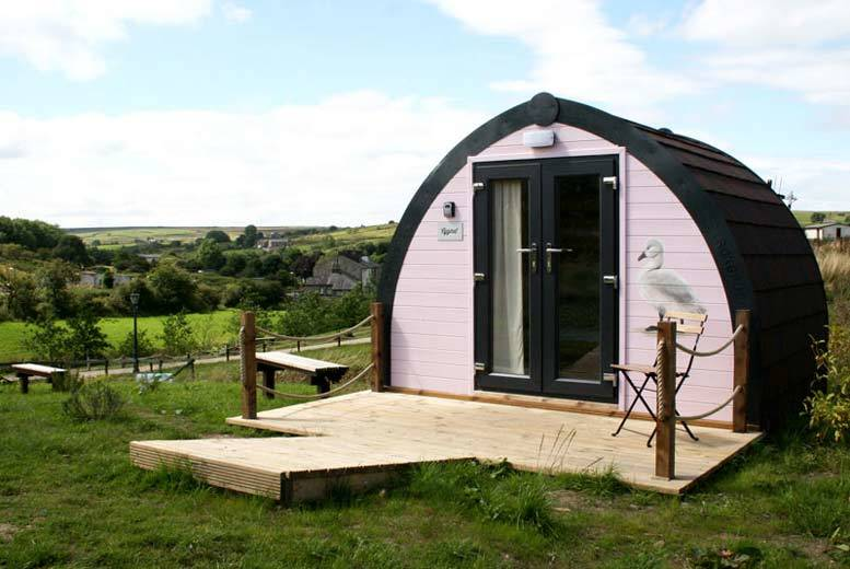 Manchester: 2nt Lancashire Glamping for 2 @ Rossendale Holidays from £59