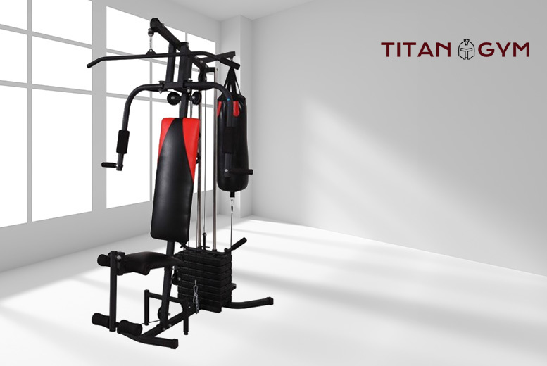Titan Home Gym Workout Station – 4 Types! from £159