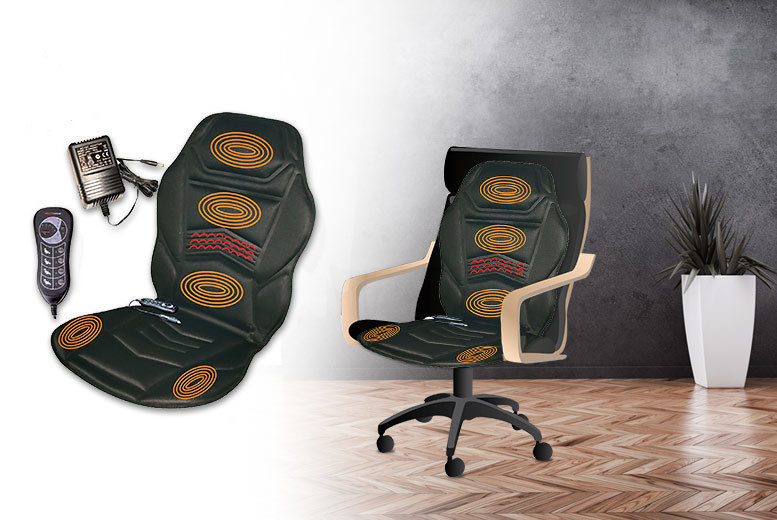 Heated Massage Cushion & Remote for £19.99