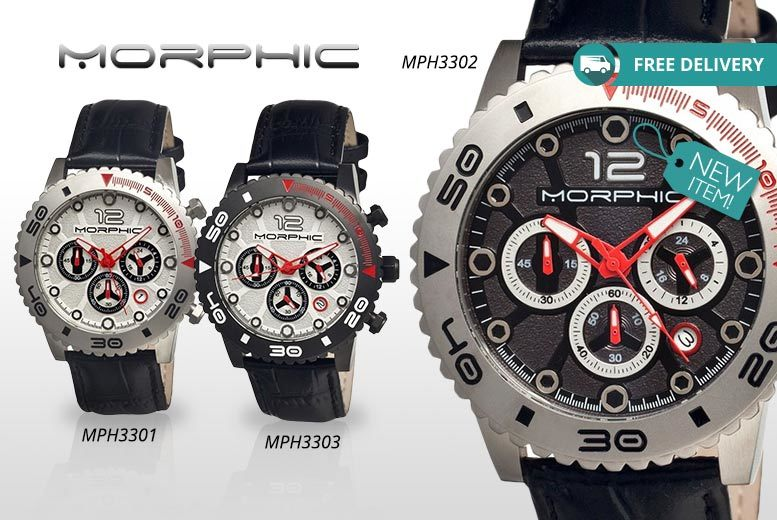 Men's Morphic M33 Series Watch - 3 Designs + Free Delivery!