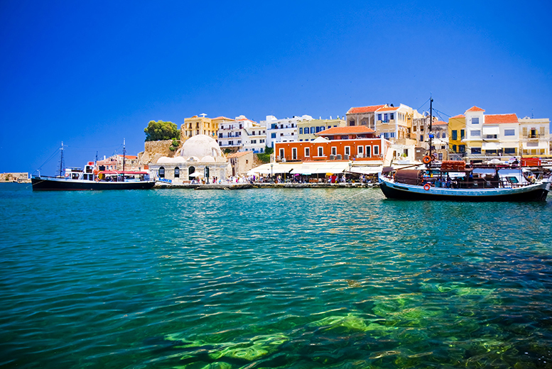 From £159pp (from ClearSky Holidays) for a four-night 4* all-inclusive Crete break including flights and a sea view room, or seven nights from £249pp - save up to 24%