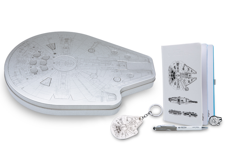 Star Wars Millennium Falcon Stationery Set for £11.99