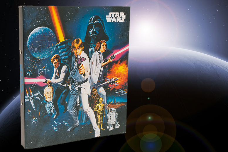 Star Wars: A New Hope Ring Binder for £2.99
