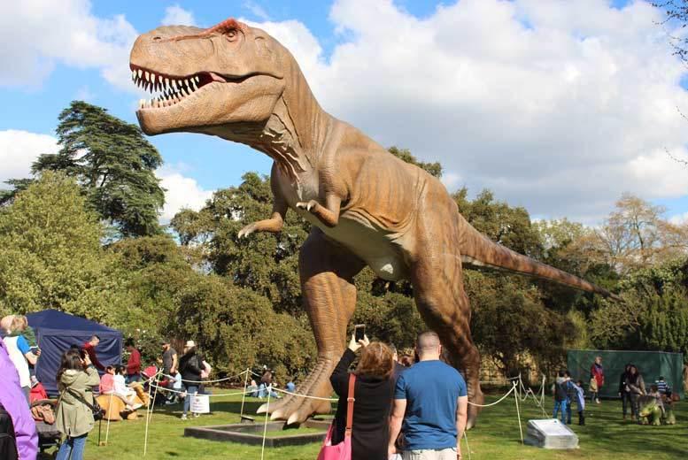Newcastle: Jurassic Kingdom Tkt @ Leazes Park, Newcastle for £8