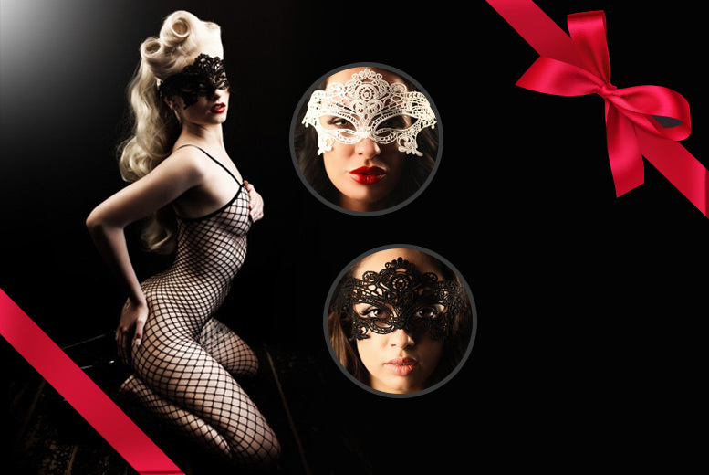 Bodystocking & Mask Gift Box – 2 Colours! for £9.99