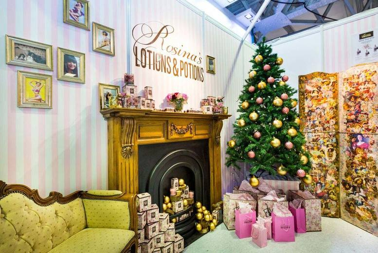 2 Christmas Ideal Home Show Tickets @ Event City, Manchester
