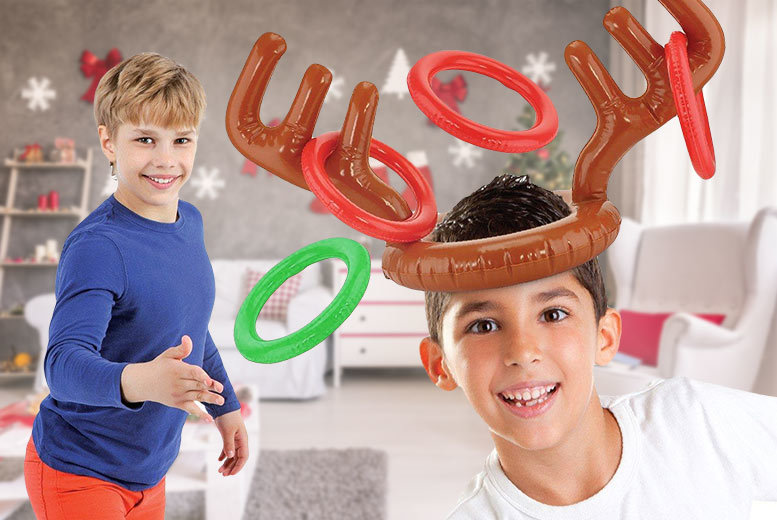 Inflatable Reindeer Antler Toss Game for £4.99