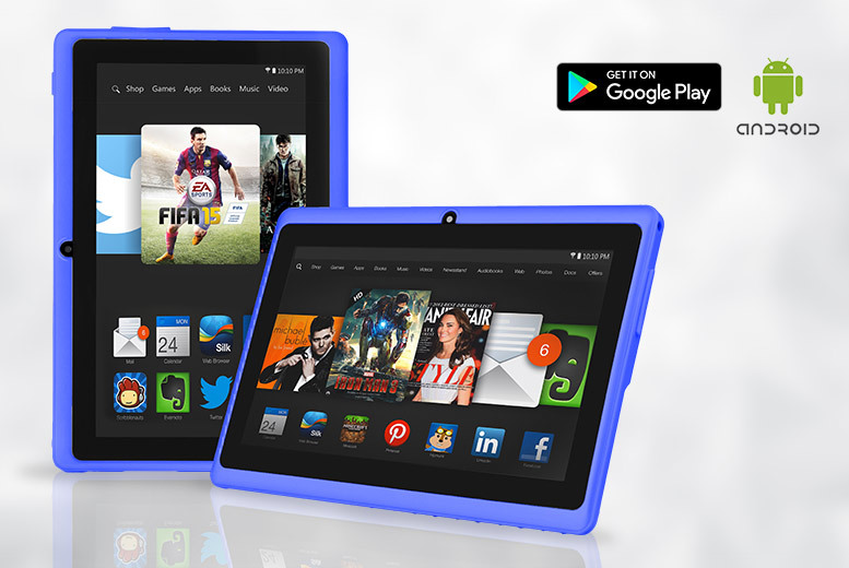 7″ HD Slimline Dual Core Android 4.4 Tablet – 1 Year Warranty! for £29