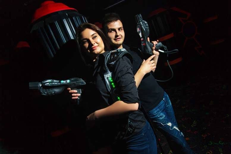 Nottingham: 2 Games of Laser Tag up to 4 @ Quasar Elite from £5