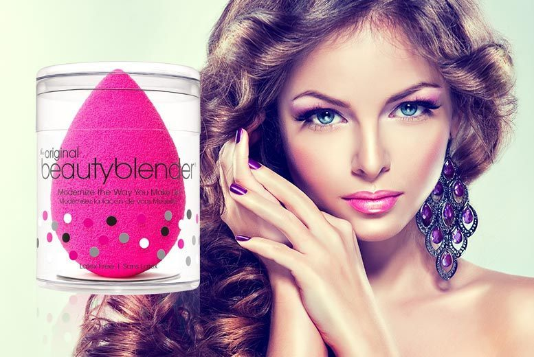 £6.99 instead of £16.79 (from Glamour Shop UK) for an original beauty blender sponge in black or pink - get a professional finish and save 58%