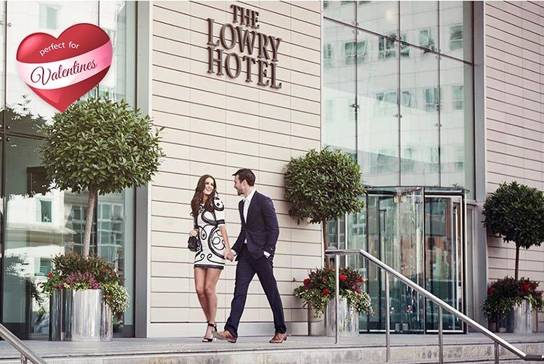£59 for a luxury spa day and two-course lunch for one person, £99 for two people at The Lowry Hotel, Manchester - save up to 53%