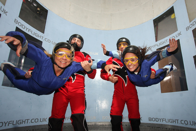 £29.99 instead of £39.99 (from Bodyflight Bedford) for an indoor skydiving experience for 1 or £39 for 2 at Bodyflight Bedford