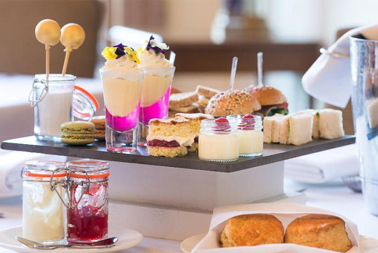 Traditional Afternoon Tea for 2 @ Stoke Rochford Hall