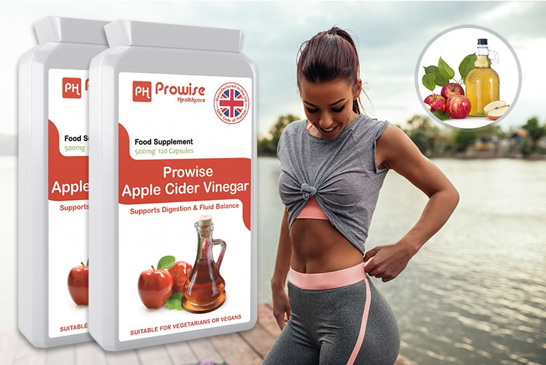 8mth* Supply of Prowise Apple Cider Vinegar 240 Capsules Bundle for £16