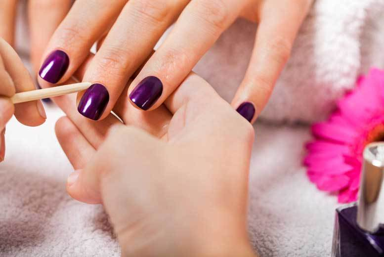 London: Express Shellac Manicure & Pedicure @ Dahlia, Forest Hill for £19