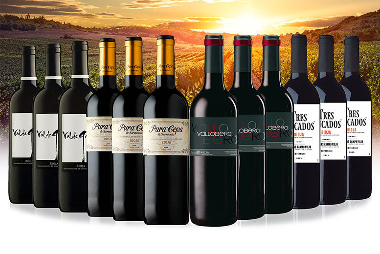 A Rioja One More Time Red Wine Selection for £64.99
