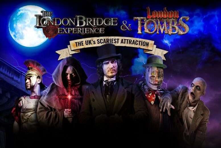London: The London Bridge Experience & London Tombs for £16