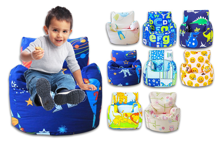 Children's Bean Bag Chair – 8 Designs! for £14.99