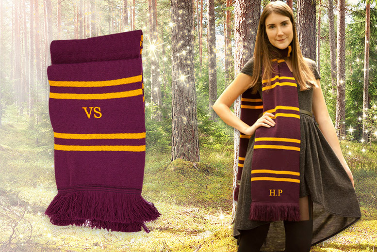 Personalised Harry Potter-Inspired Scarf for £14.99