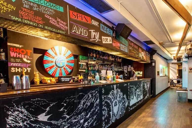 London: 4 Cocktails & Sharing Platter for 2 @ Nordic Bar, Soho from £14