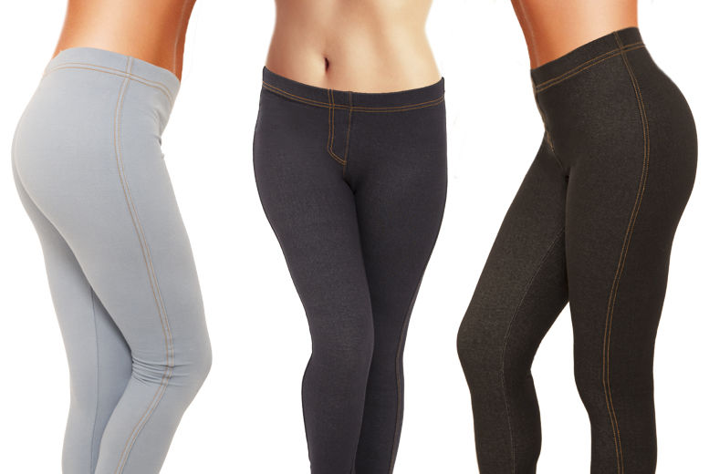 Ladies Jeggings – 3 Colours! for £3.99