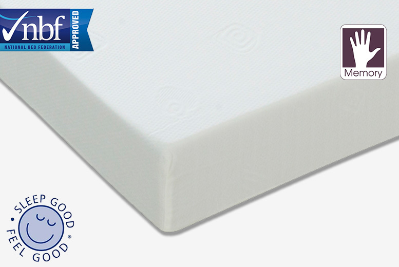 6 Deep Sleep Memory Foam Mattress From 39