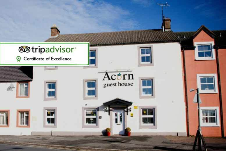 Manchester: 2nt Lake District Stay with Breakfast for 2 @ Acorn Guest House for £99