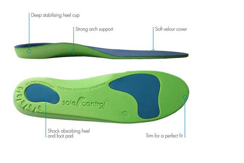 Orthotic Insoles – 3 Colours! from £4.99