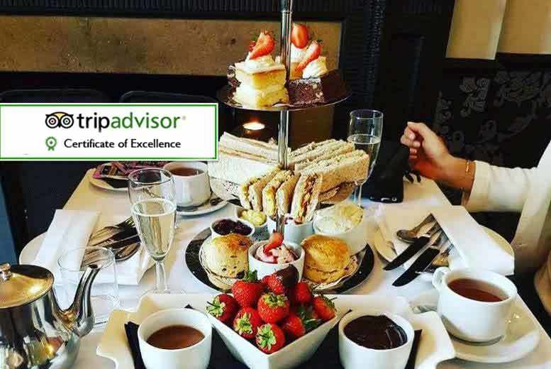 Leeds: Champagne Afternoon Tea for 2 @ Craiglands Hotel for £25