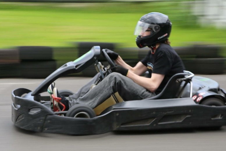 Bristol: 80 Karting Laps for 1, 2 or 4 from £19